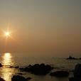 Mareからの夕日1627
