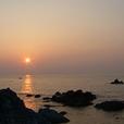 Mareからの夕日1648