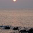 Mareからの夕日1658